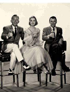 Bing Crosby, Grace Kelly, Frank Sinatra