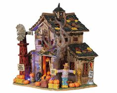 Lemax Spooky Town Creepy Barn - It sure is! (Goes well with Creepy Cabin).  MUST HAVE