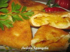Самса узбекская домашнего приготовления с тыквой