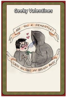 We're finally in February (the month of love) and Valentine's Day is around the corner! Herewith the NerdiPop top 30 Geeky Valentines Cards and sayings for Take My Breath, Pop Culture, Fun Facts, Sci Fi, Geek Stuff, Valentines, Baseball Cards, Comics, Random
