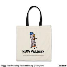 Happy Halloween Shy Peanut Mummy