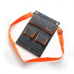 This Crossover bag represents a cutting-edge attitude towards life which is integrated in an aesthetic way. The orange and gray is a perfect mix of vitality with a hint of subtlety. Shop now: http://geeksupply.co/product/outinside-cross-portable-bag/ On sale for $39.99