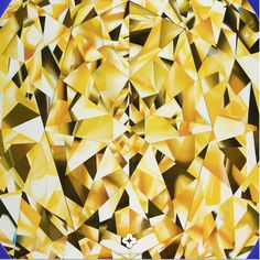 'The Portrait of Luminosity' - Oval Cut Yellow Diamond Painting by Reena Ahluwalia. 60 x 48 inches. Mughal Jewelry, Diamond Dreams, Diamond Paint, Green Diamond, Oval Diamond, Heart Shaped Diamond, Jewelry Art, Bling Jewelry, Colored Diamonds