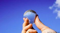 Botellas de agua de diseño para no malgastar plástico