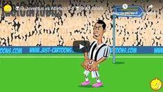 Juventus vs Atletico Madrid 3-0 - Il cartone animato della Just Cartoons - VIDEO JUVENTUS VS ATLETICO MADRID 3-0 - IL CARTONE ANIMATO DELLA JUST CARTOONS: ancora un bel episodio in formato cartone animato della Just Cartoons: Juventus - Atletico Madrid in pochi secondi ma pur sempre divertente. Musica di Kim Tamara. Realizziamo i nostri film perché li apprezziamo. E speriamo, naturalmente, che ti diverta anche tu. Siamo Gabriel e Lutz. Gabriel viene dal sud e vengo dalla Ger Champions League, Ronaldo, Video, 3, Madrid, Soccer, Goals, Film, Sports