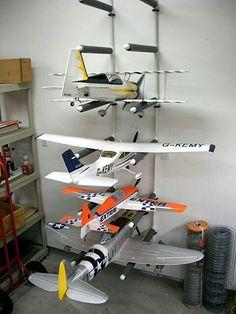 Rack para aeromodelismo
