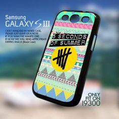 Aztec 5 second of summer Logo-Galaxy S3 i9300 Case