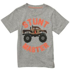 Perfect shirt for Carter's truck birthday party!