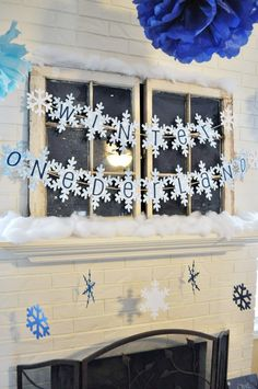 @ Kristen- for next year. winter one-derland banner, also other cute ideas