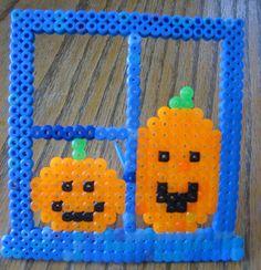Perler Bead Halloween Pumpkins by Kid's Birthday Parties