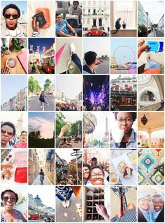 A Look At Our 6 Months in London via Instagram