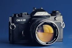 Olympus OM 4 Ti.  Classic, by any measure.