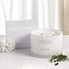 Buy Blanc Large 3-Wick Candle - from The White Company