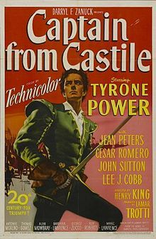 Captain from Castile, a Tyrone Power movie filmed in Acapulco in 1947.