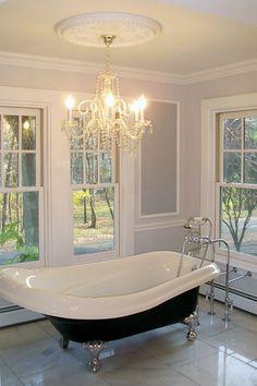 bathrooms with clawfoot tubs | Victorian Bathroom with Clawfoot Tub | Xcelrenovation