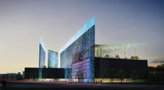 Gallery - Taichung City Cultural Center Comeptition Entry / Williamson Architects - 1