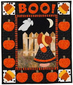 Sunbonnet Sue Halloween quilt at Martingale - Year in the Life of Sunbonnet Sue, Christine Porter and Darra Williamson