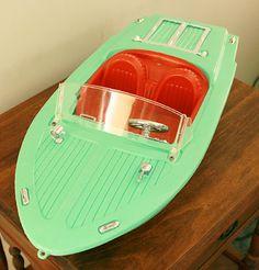 Barbie Vintage Speed Boat