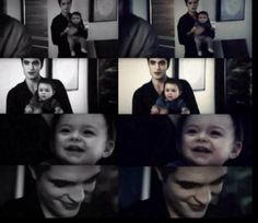 Edward & baby Renesmee