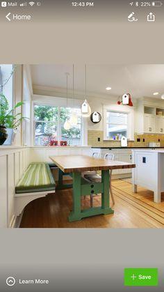 Kitchen Seating, Corner, Table, Furniture, Home Decor, Decoration Home, Room Decor, Tables, Home Furnishings