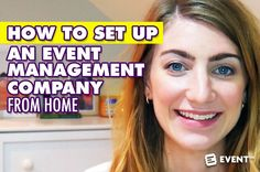 How To Set Up an Event Management Company from Home [Video] - In this new video, we talk about the realities of working from a home base and what you need to consider before starting an event planning company from home.