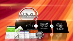 Take the Le-Vel THRIVE 8 Week Experience for free. Sign up as a Customer FREE become a Promotor FREE Get your Products FREE....here's how!  http://emilyforsyth42.le-Vel.com