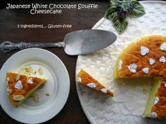Home Cooking In Montana: 3 Ingredient Japanese Souffle Cheesecake... Gluten-Free.