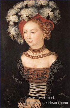 jeune femme renaissance Lucas Cranach