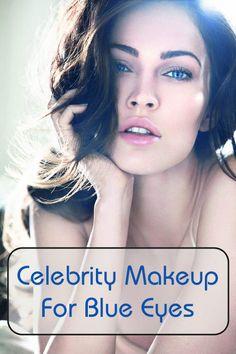 Celebrity Makeup For Blue Eyes Loading. Celebrity Makeup For Blue Eyes Makeup Tips, Beauty Makeup, Hair Makeup, Hair Beauty, Beauty Skin, Makeup Ideas, Bigger Eyes, Silver Eyeshadow, Concealer For Dark Circles