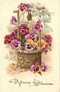 pinterest FLOWERS VINTAGE - Szukaj w Google