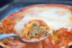 Ein tolles, vegetarisches Gericht gelingt ihnen mit diesem einfachen #Cannelloni Rezept.