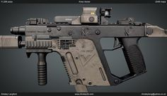 Ainsley | Ainsley3d.com | Here's a Kriss Vector I've been working on for a little while now.