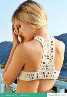 Crochet Halter Top - Crochet creation by janegreen