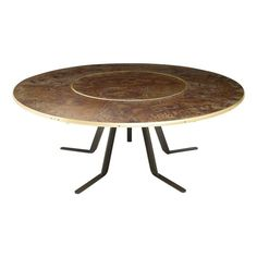 Giro Dining Table | From a unique collection of antique and modern dining room tables at https://www.1stdibs.com/furniture/tables/dining-room-tables/