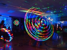 Astral Hoops Atomic Hoop- need this for drum circle Led Hula Hoop, Led Hoops, Neon Nights, Free Ads, Circle Of Life, Over The Rainbow, Rainbow Things, Fire, Bright Lights
