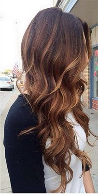 2015-hair-color-trend-for-brunettes | Check out 2015's Hair Color Trends! From babylights and platinum blonde to marsala and caramel browns - get your latest hair color ideas and hair color formulas here! http://www.jexshop.com/