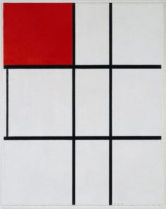 Buy Piet Mondrian's Composition B (No.II) with Red from just Tate Custom Prints - quality art prints on demand. Framed Canvas Prints, Canvas Frame, Piet Mondrian Artwork, Modernist Movement, Expressionist Artists, Expressionism, Abstract Words, Dutch Painters, Post Impressionism