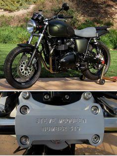 Steve McQueen Limited-Edition Triumph :: Richard Pollock