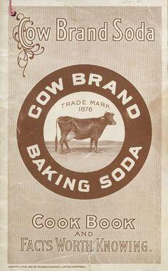 Cow Brand Baking Soda Cookbook (Canada?)