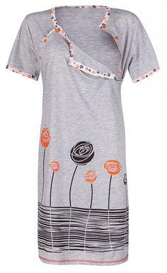 Paula Modest Classy Women Breastfeeding Nursing Maternity Top Blouse Shirt