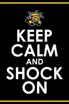 Wichita State University (WSU) GO Shockers! Was accepted into graduate school here. State Of Kansas, Wichita State, Go Shockers, The Shocker, Kansas Jayhawks, Alma Mater, Proud Of You, Keep Calm, Inspire Me