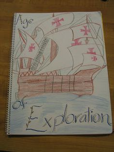 from a ml book of a school student http://maymomvt.blogspot.fr/2008/09/setting-sail-in-waldorf-7th-grade.html