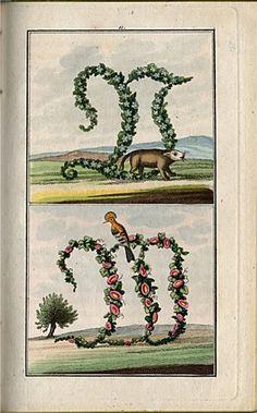 illuminirten Kupfern. Leipzig, Verlag der Taubert'schen Buchhandlung. Aus der Kinderbuchsammlung von Oskar Roesger im Stadtmuseum Bautzen, 1830