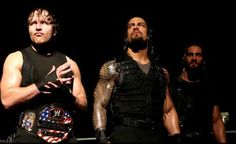 Dean Ambrose Roman Reigns Seth Rollins : WWE Pictures|WWE ...