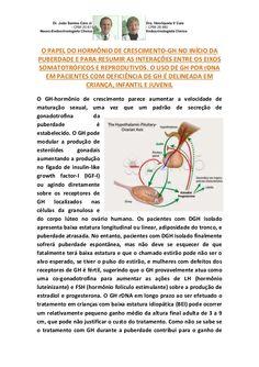PAPEL DO GH NA FISIOLOGIA DO OVÁRIO E INÍCIO DA PUBERDADE by VAN DER HAAGEN via slideshare