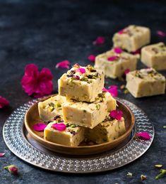 3 main ingredients and 5 minutes prep time is all you need to make this rich and decadent fudge. This fudge recipe has endless variation. Get creative! Makes great edible gifts or last minute treat for pot luck and parties. Best Waffle Recipe, Waffle Recipes, Fudge Recipes, Candy Recipes, Sweet Dishes Recipes, Sweet Desserts, Indian Dessert Recipes, Indian Sweets, 3 Ingredient Fudge Recipe
