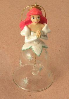 Disney's Little Mermaid Ariel Bell Christmas Ornament