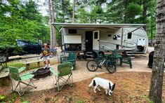 Campground Review of the Lake Placid / Whiteface Mountain KOA Camping Books, West Glacier, Rv Sites, Mirror Lake, Swimming Holes, State Parks, Recreational Vehicles, Mountain, Camper