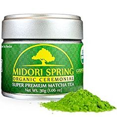 Midori Spring Organic Ceremonial Matcha - Gold Class - Super Premium Harvest Japanese Matcha Green Tea *** Continue to the product at the image link. Best Matcha Tea, Matcha Drink, Organic Matcha Green Tea, Matcha Green Tea Powder, Pineapple Rum Drinks, Brain Boosting Foods, Ceremonial Grade Matcha, Japanese Matcha, Japanese Food