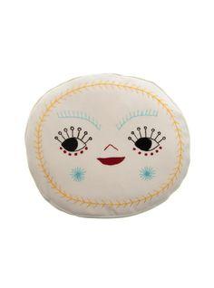 couverture happy face pillow